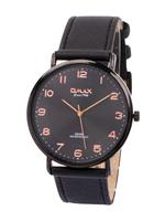 Omax SX Gents Leather Stainless steel Watch For Men