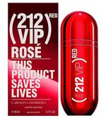 CH 212 Vip Rose Red Limited Edition for Women Eau De Parfum 80ML