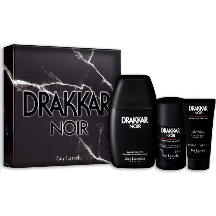 Guy Laroche Drakkar Noir For Men Eau De Toilette 100ML Set
