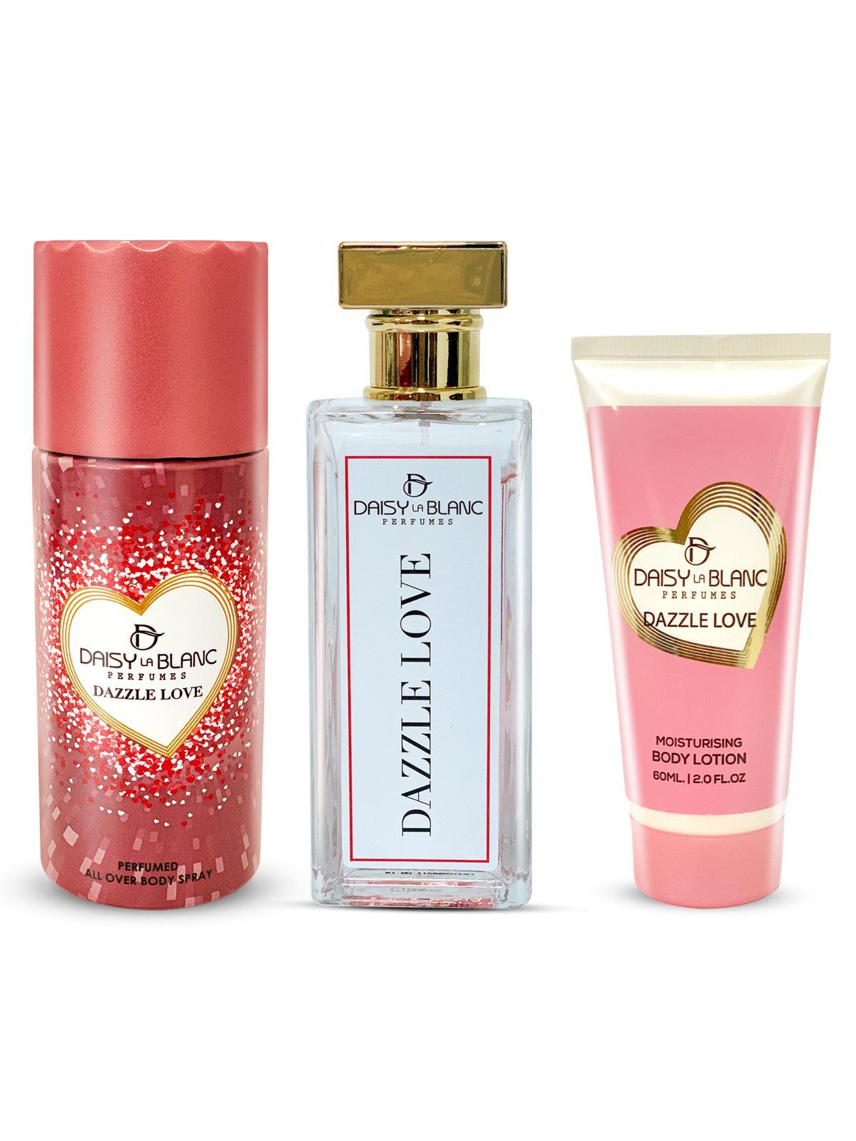 Daisy La Blanc Dazzle Love Limited Edition For Women Pour Femme Eau De Parfum 80ML Set