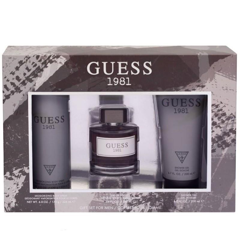 Guess 1981 Men/Homme Eau De Toilette 100ML Set
