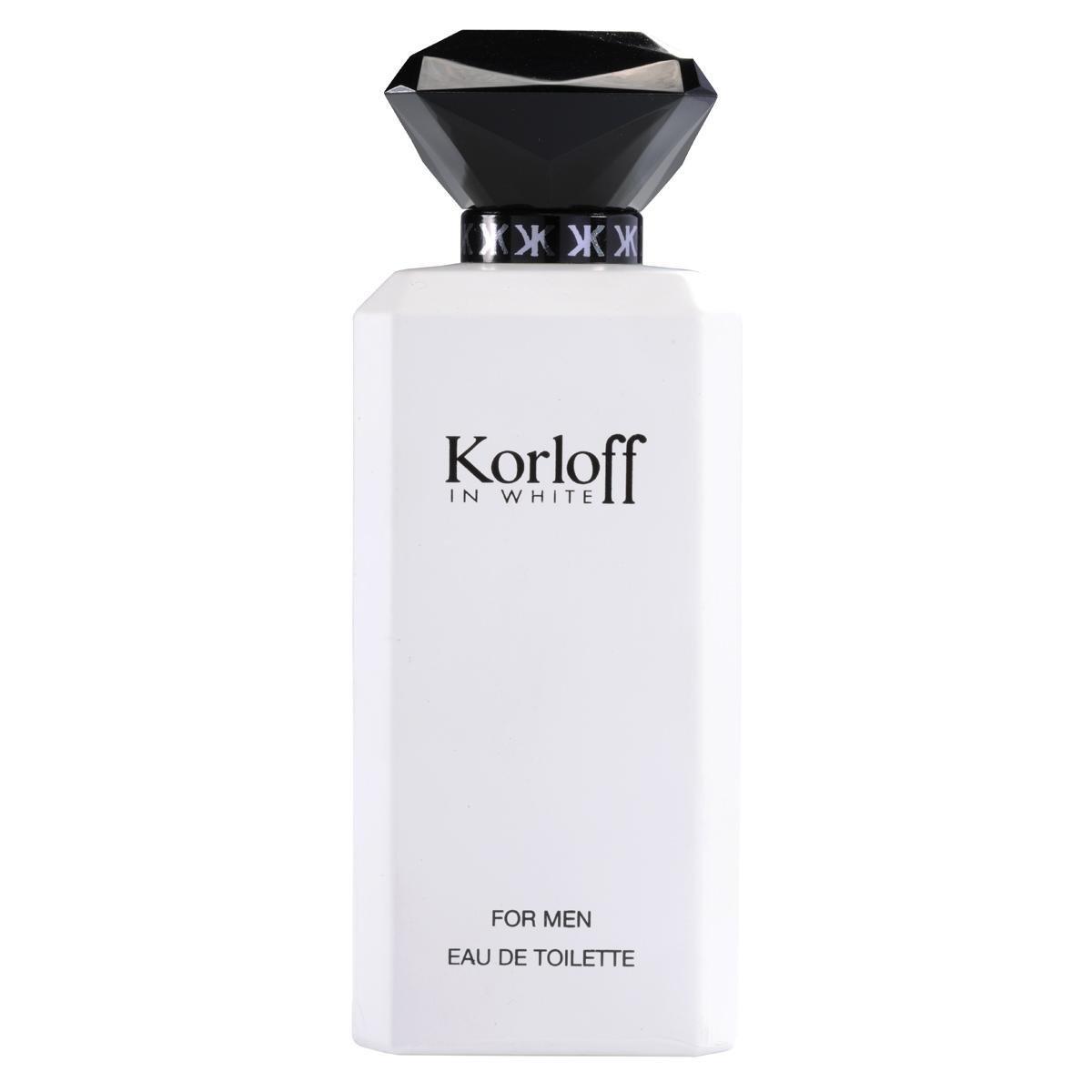 Korloff In White For Men Eau De Toilette 88ML