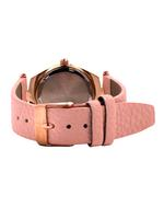 Omax CECT Ladies Leather Stainless steel Light Pink 29 mm Watch For Women