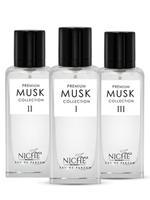 Faiz Niche Premium Musk Collection For Unisex Eau De Parfum 60ML*3  Set