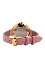 Omax CECT Ladies Leather Stainless steel Red 22 mm Watch For Women