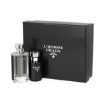 Prada L'Homme for Men Eau De Toilette 100ML Set
