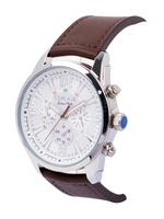 Omax GX&GU Multi Leather Stainless steel Watch For Unisex