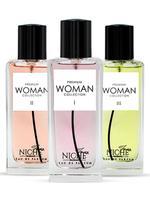 Faiz Niche Premium Woman Collection eau de parfum 60ML of 3 Perfume Set
