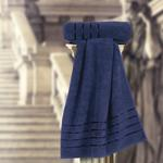 THE ROMAN FACE TOWEL NAVY BLUE