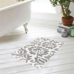Bathmat Provence White & Grey