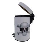 Skull Pedal Bin