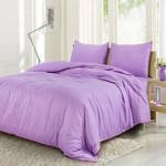 Grain Lilac King Size Bedsheet