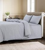 Grain Silver Duvet Cover