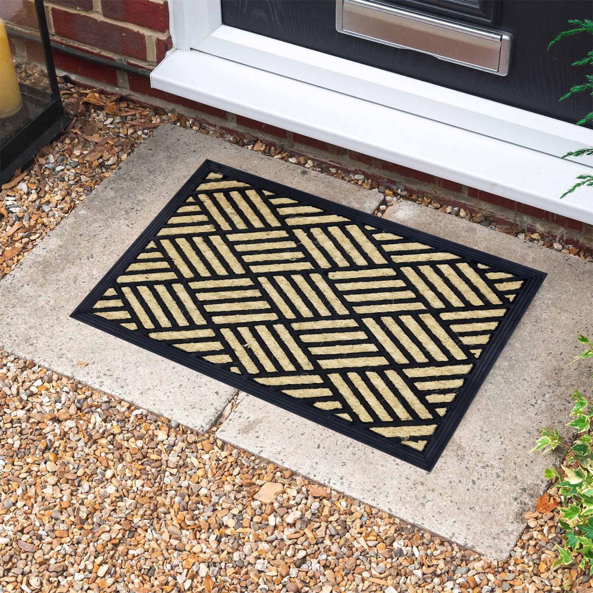 Boucara Checker Doormat