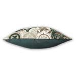Coastal Green Cotton Block Print Cushion Cover