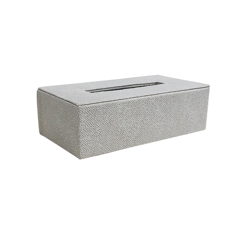 JS TISSUE BOX OFFWHITE