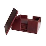 JS COASTER 6 PCS SET MAROON