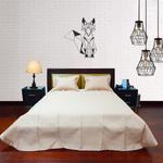 S973 EMBROIDERY BED COVER LUSH BEIGE