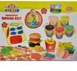Art Craft Hamburger Dough Set