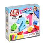 Art Craft Smart Numbers Dough Set