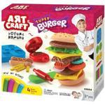 Art Craft Hamburger Dough Set 200g