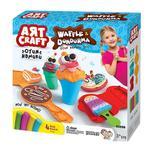 Art Craft Waffle And Ice-Cram Dough Set