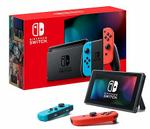 Nintendo Switch Console Extended Battery Life- Neon