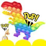 Bubble Pops- Rainbow Dinosaur Fidget Toy