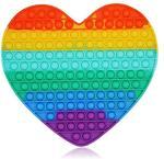 Bubble Pops -Jumbo Heart Fidget Toy