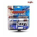 Maisto Burning Key Car with Tow Truck