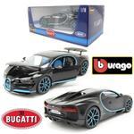 Bburago 1/18 - Bugatti Chiron Black