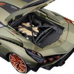 Bburago 1/18 - Lamborghini Sián FKP 37- Metallic Green