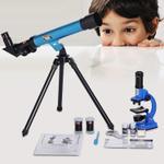 Eastcolight Value Pack Microscope & Telescope Set