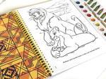 Disney Lion King Deluxe Poster Paint & Color