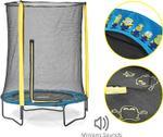 Plum Minions 4.5 ft Trampoline & Enclosure