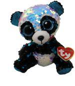 Ty Beanie Bamboo Panda Flippable