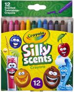 Crayola 12pcs Mini Twistable Silly Scented Crayons