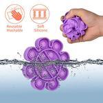 Bubble Pops- Purple Flower Fidget Toy