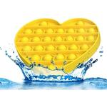 Bubble Pops- Yellow Heart Fidget Toy