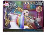 Rainbow High Salon Playset with of DIY Washable Hair Color Foam (Doll Not Included)