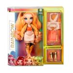 Rainbow Surprise Rainbow High Poppy Rowan – Orange Fashion Doll