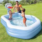 Intex Swim Center Shooting Hoops Family Pool