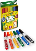 Crayola 6pcs Chisel Tip Scented Markers