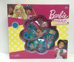 Barbie 4 Decks Heart Shape Cosmetic Case