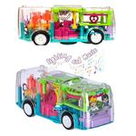 Gear Light Transparent Electric Function Music Bus
