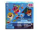 Pink fong Baby Shark Foam Puzzle