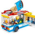 LEGO 60253 City Great Vehicles Ice-Cream Truck Toy with Skater and Dog Figure