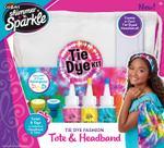 Shimmer N Sparkle Tie Dye Fashion Tote & Headband