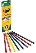 Crayola 8pcs Colored Long Pencils