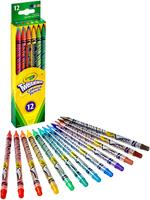 Crayola 12pcs Twistable Colored Pencils
